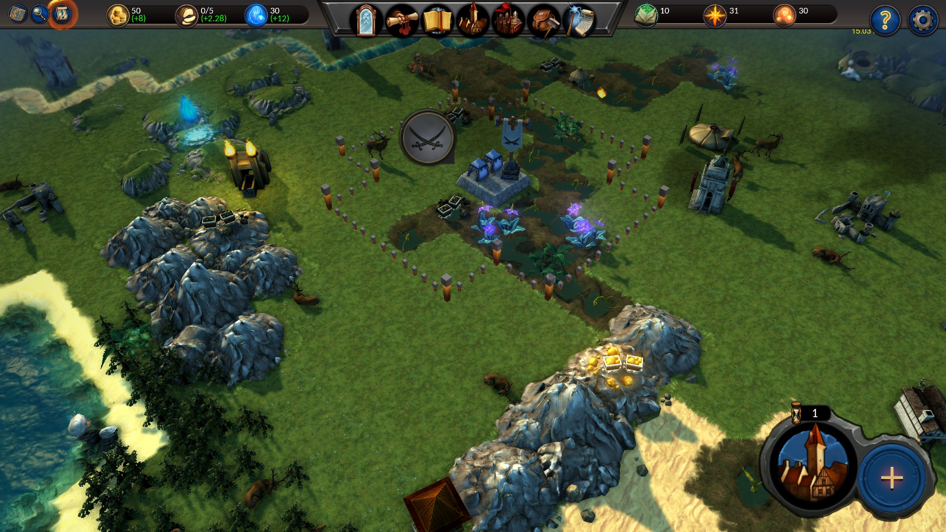 Planar Conquest Screenshot 2