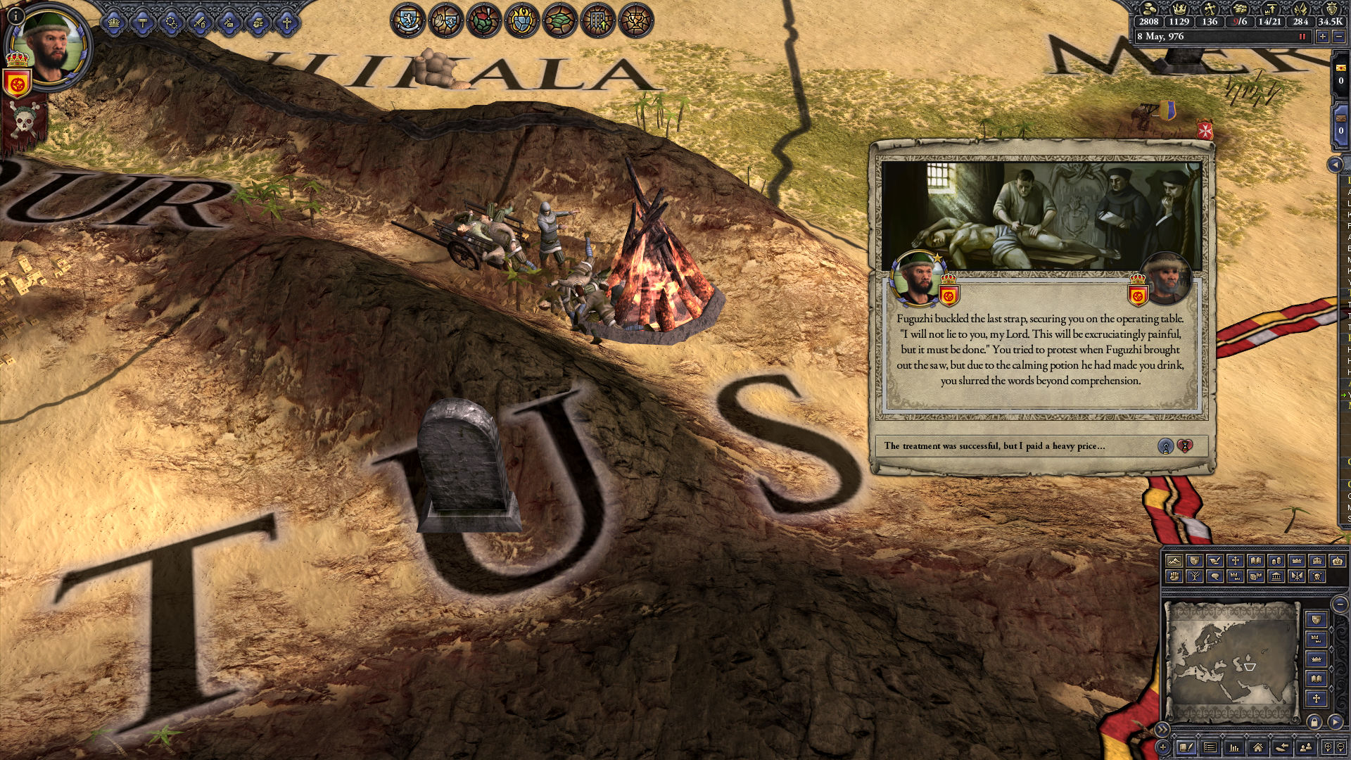 Crusader Kings II: The Reapers Due Screenshot 3