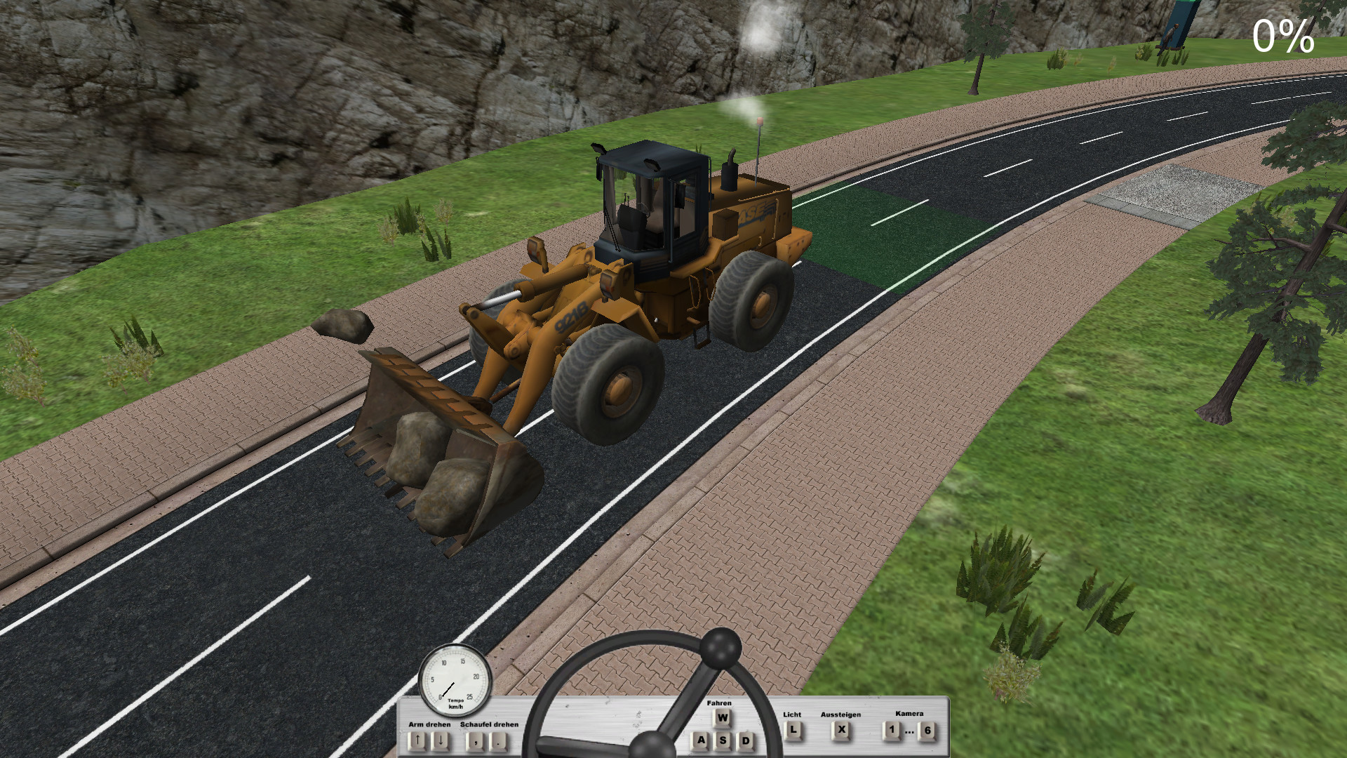 Roadworks Simulator screenshot