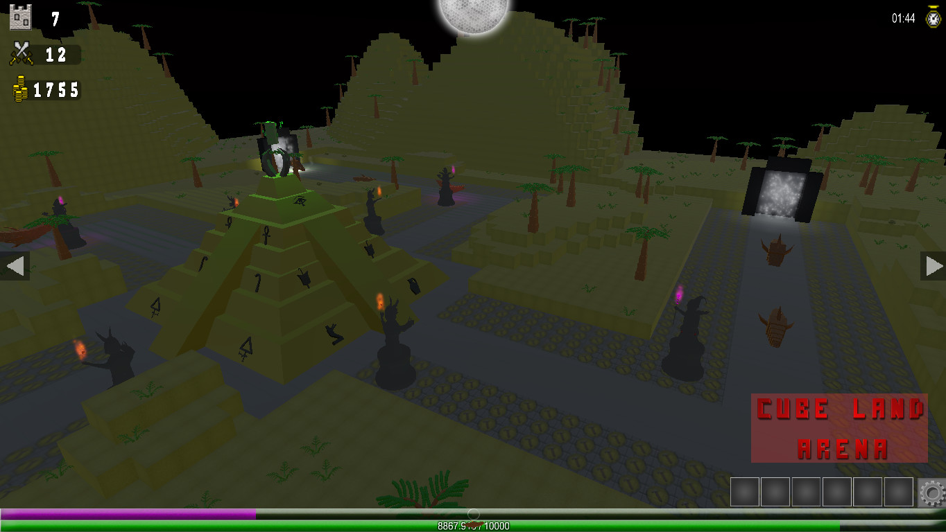 Cube Land Arena screenshot