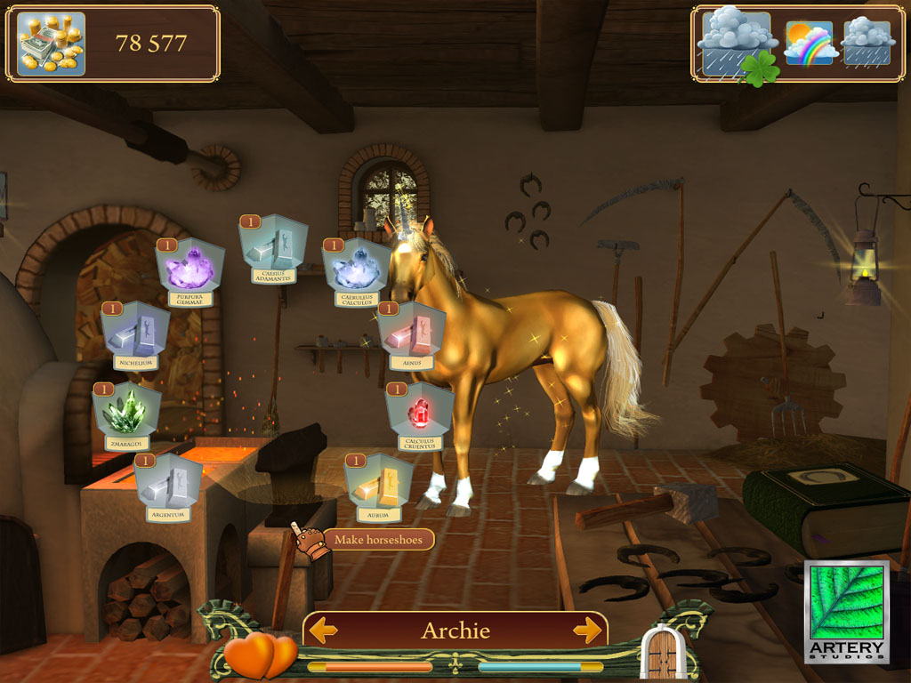 Secret of the Magic Crystals screenshot