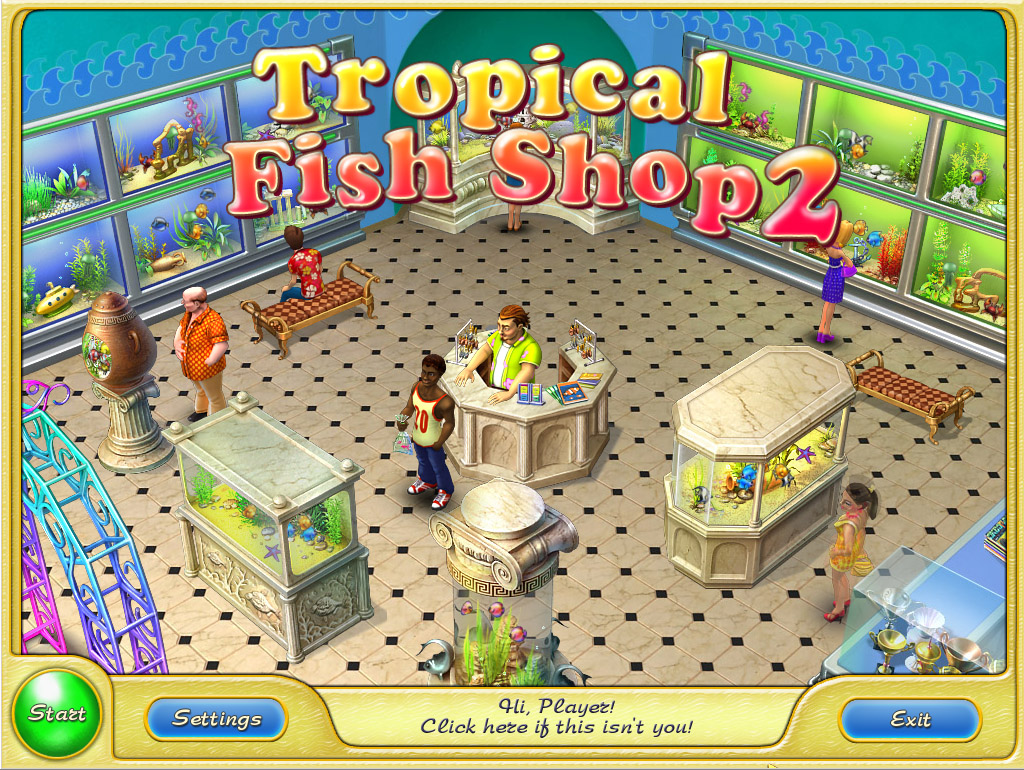 Download tropical fish shop 2 full pc game for Pet fish games
