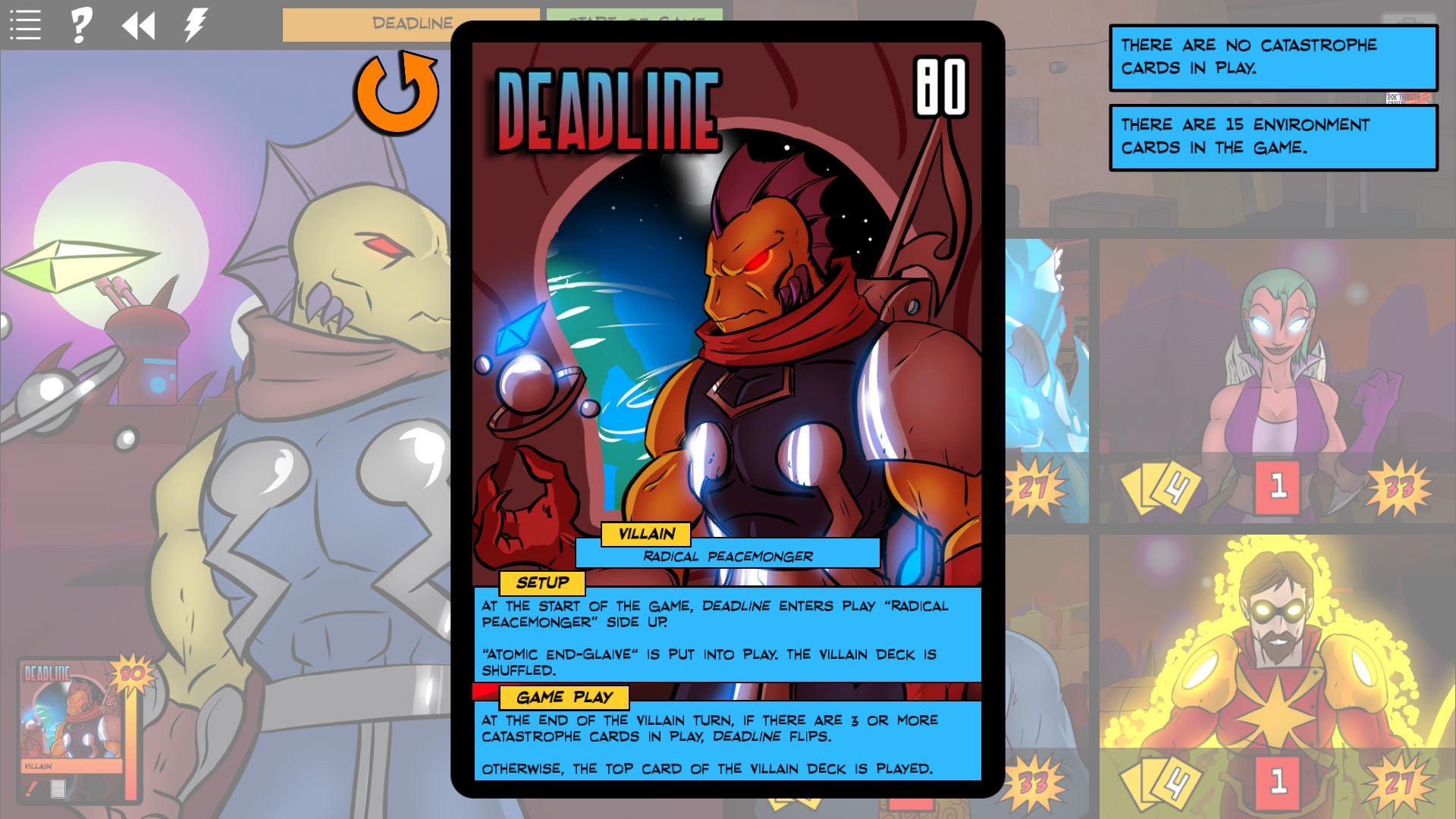 Sentinels of the Multiverse - Wrath of the Cosmos screenshot
