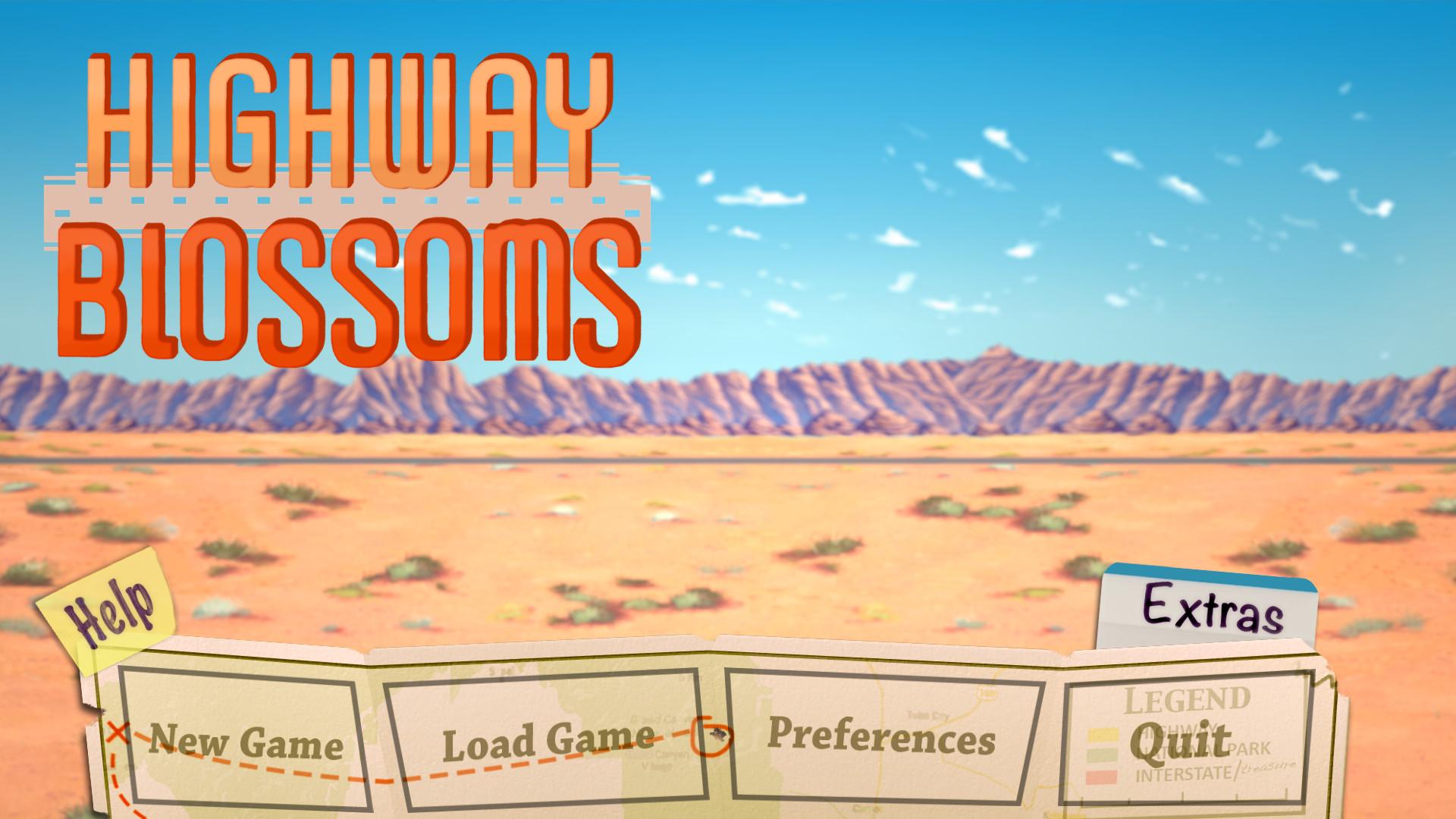 Highway Blossoms screenshot
