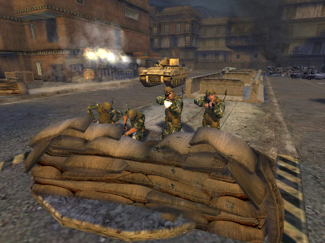 Full Spectrum Warrior: Ten Hammers screenshot