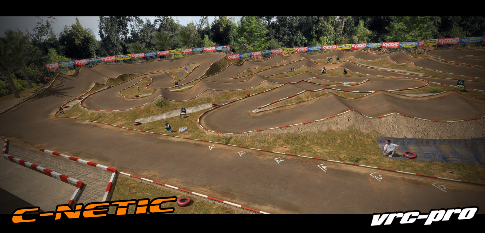VRC PRO Deluxe Off-road tracks 3 screenshot
