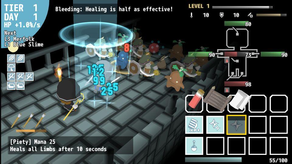 A Healer Only Lives Twice screenshot