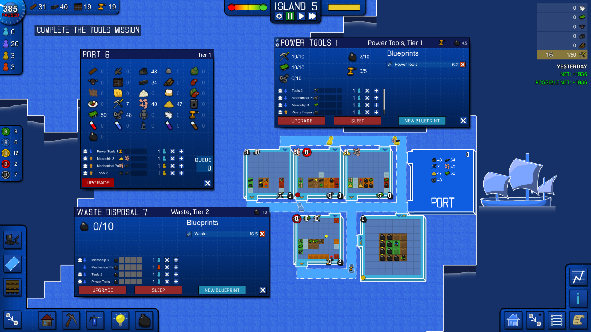 Blueprint Tycoon screenshot