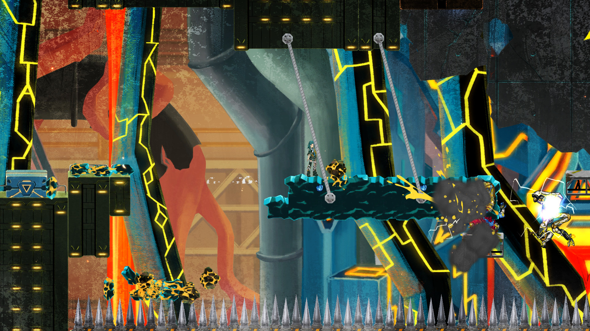 GIGA WRECKER screenshot