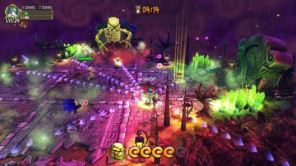Demon's Crystals screenshot