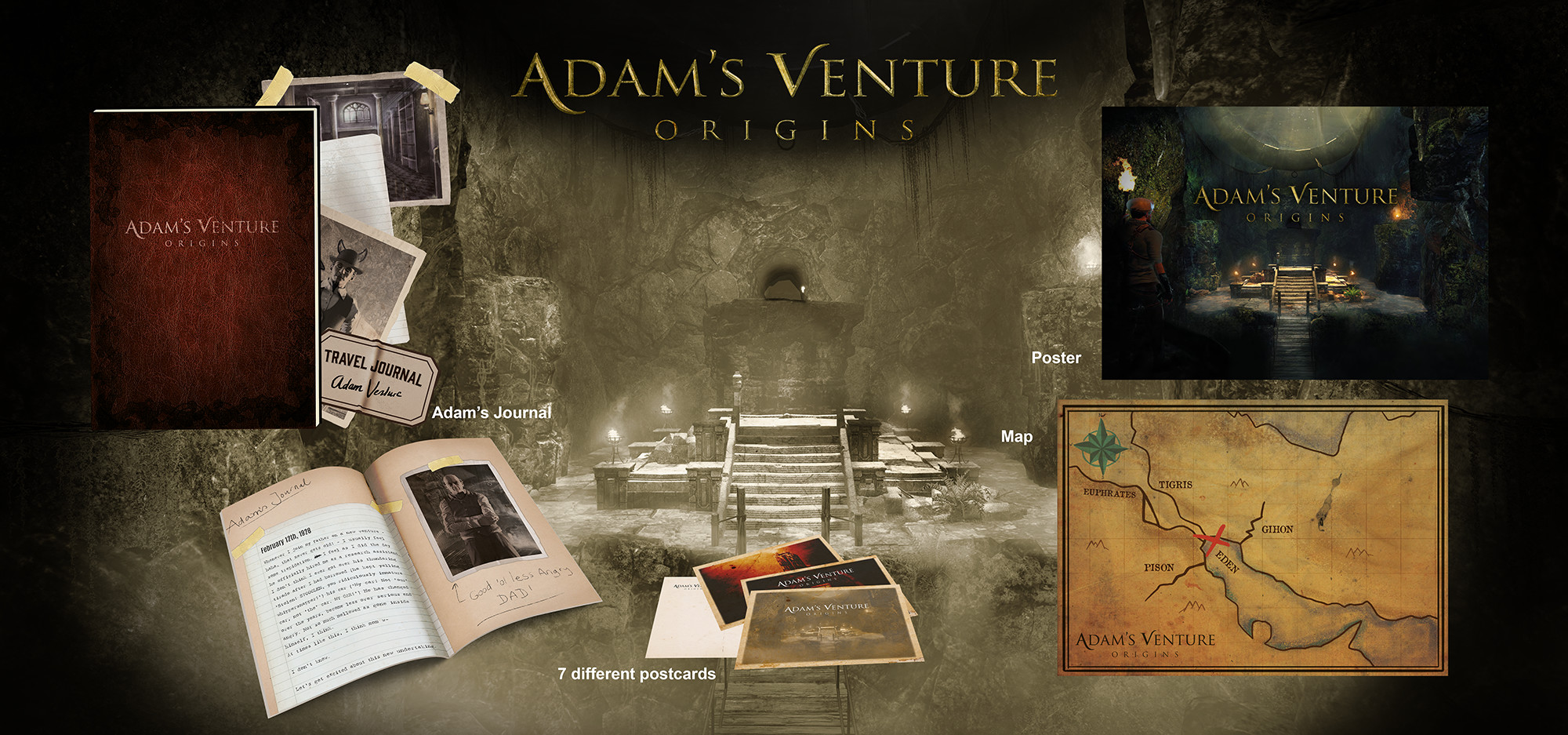Adam's Venture: Origins - Special Edition (RUS/ENG/MULTI12) [Repack]