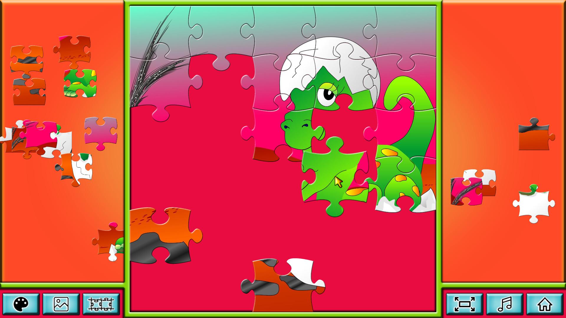 Pixel Puzzles Junior screenshot