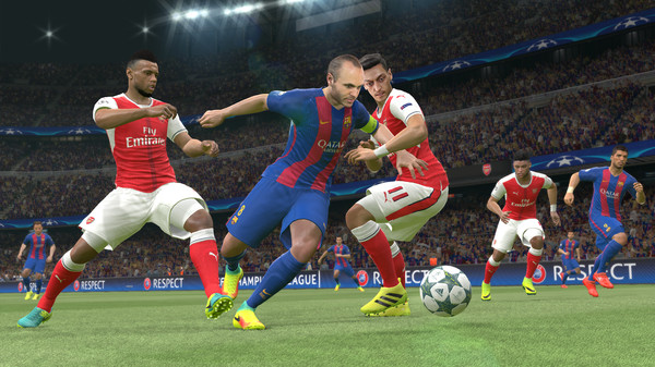 Pro Evolution Soccer 2017 3DM Crack For PC