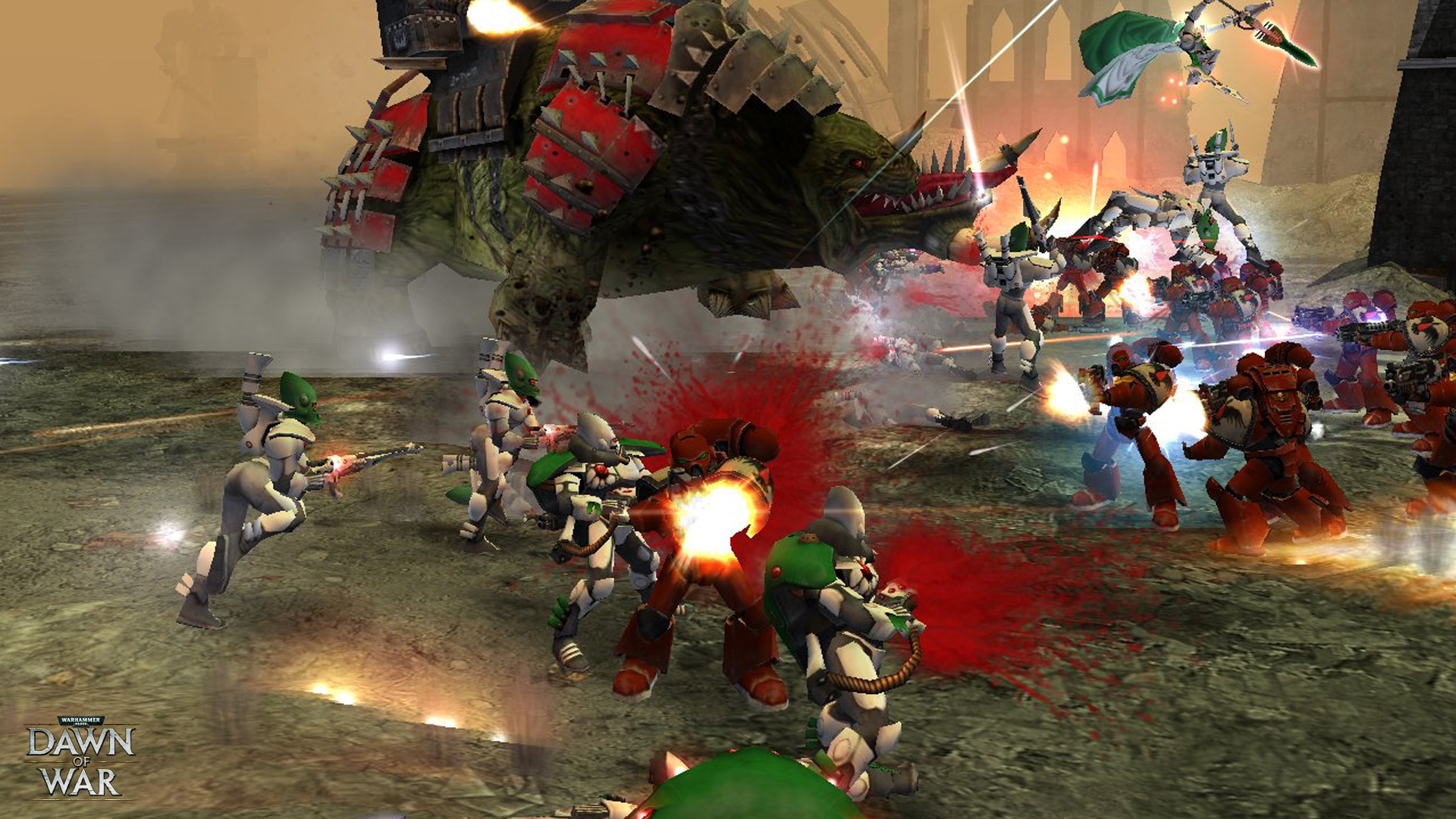 Warhammer 40,000: Dawn of War - Game of the Year Edition screenshot