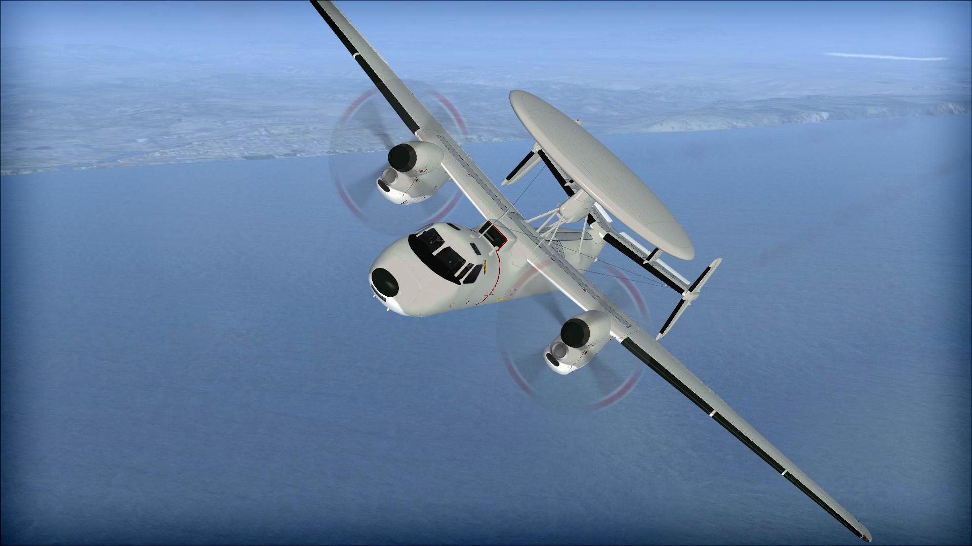 FSX: Steam Edition: Grumman E-2C Hawkeye Add-On screenshot