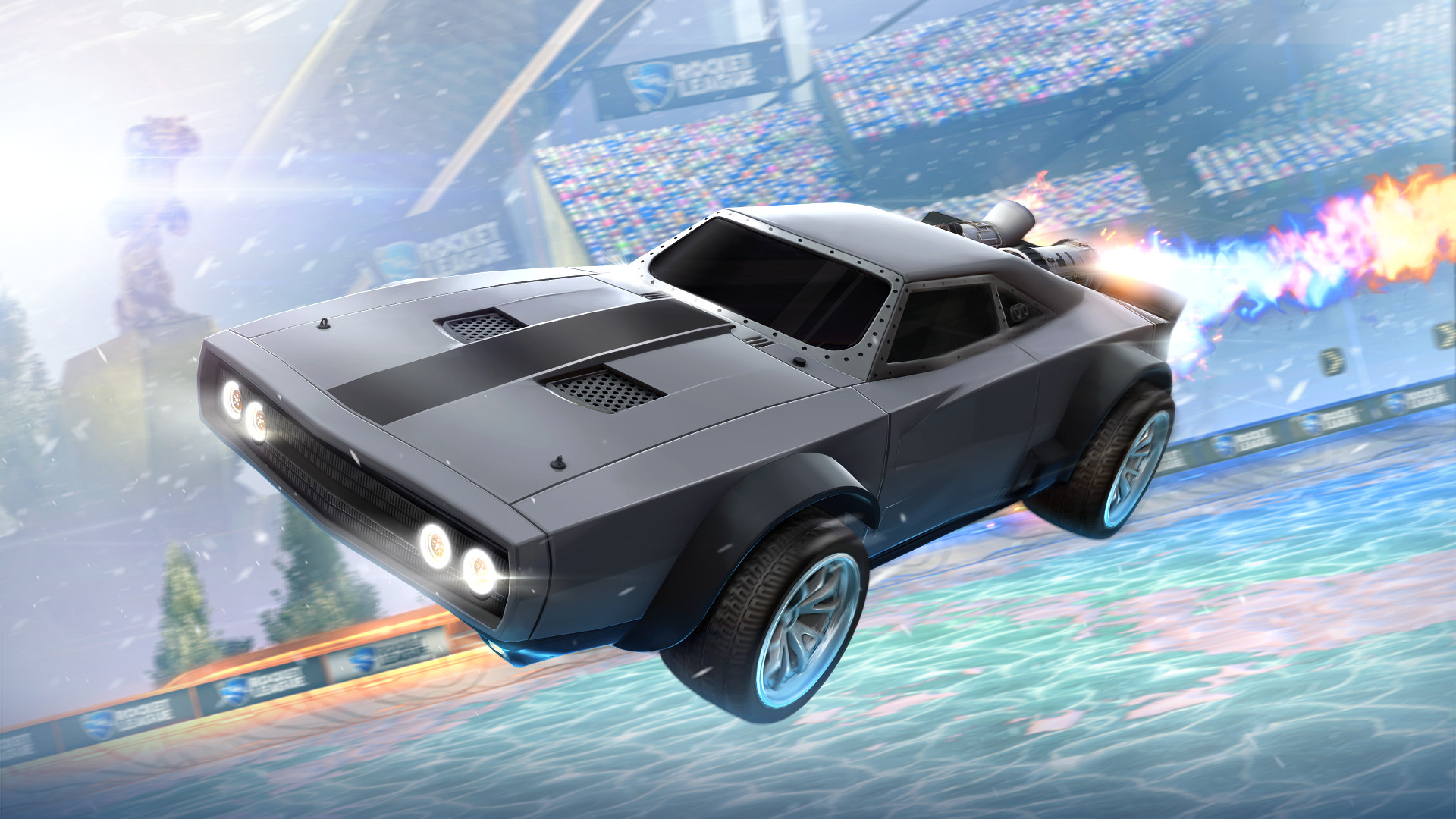 Rocket League  - The Fate of the Furious Ice Charger screenshot