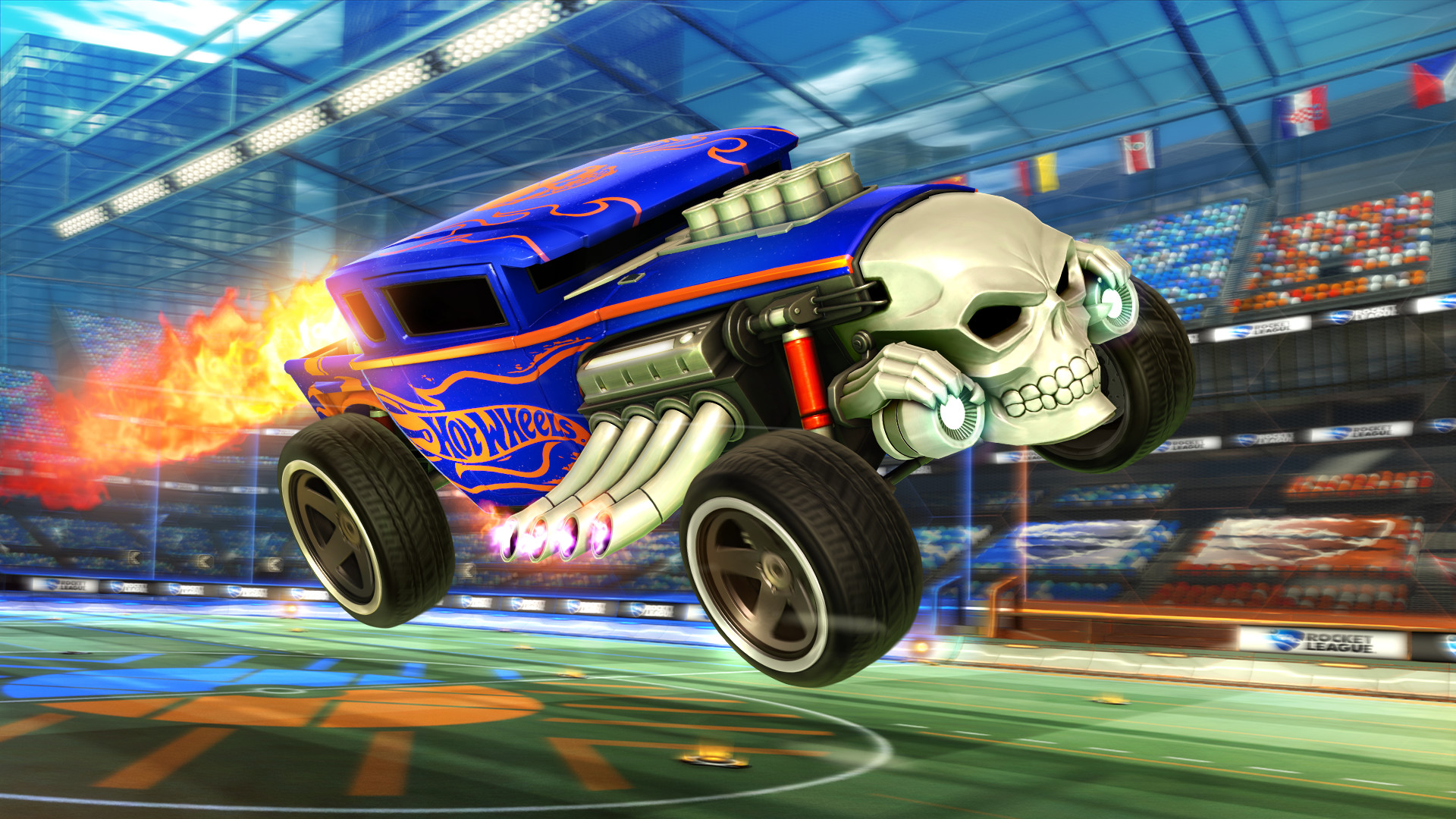Rocket League - Hot Wheels Bone Shaker screenshot