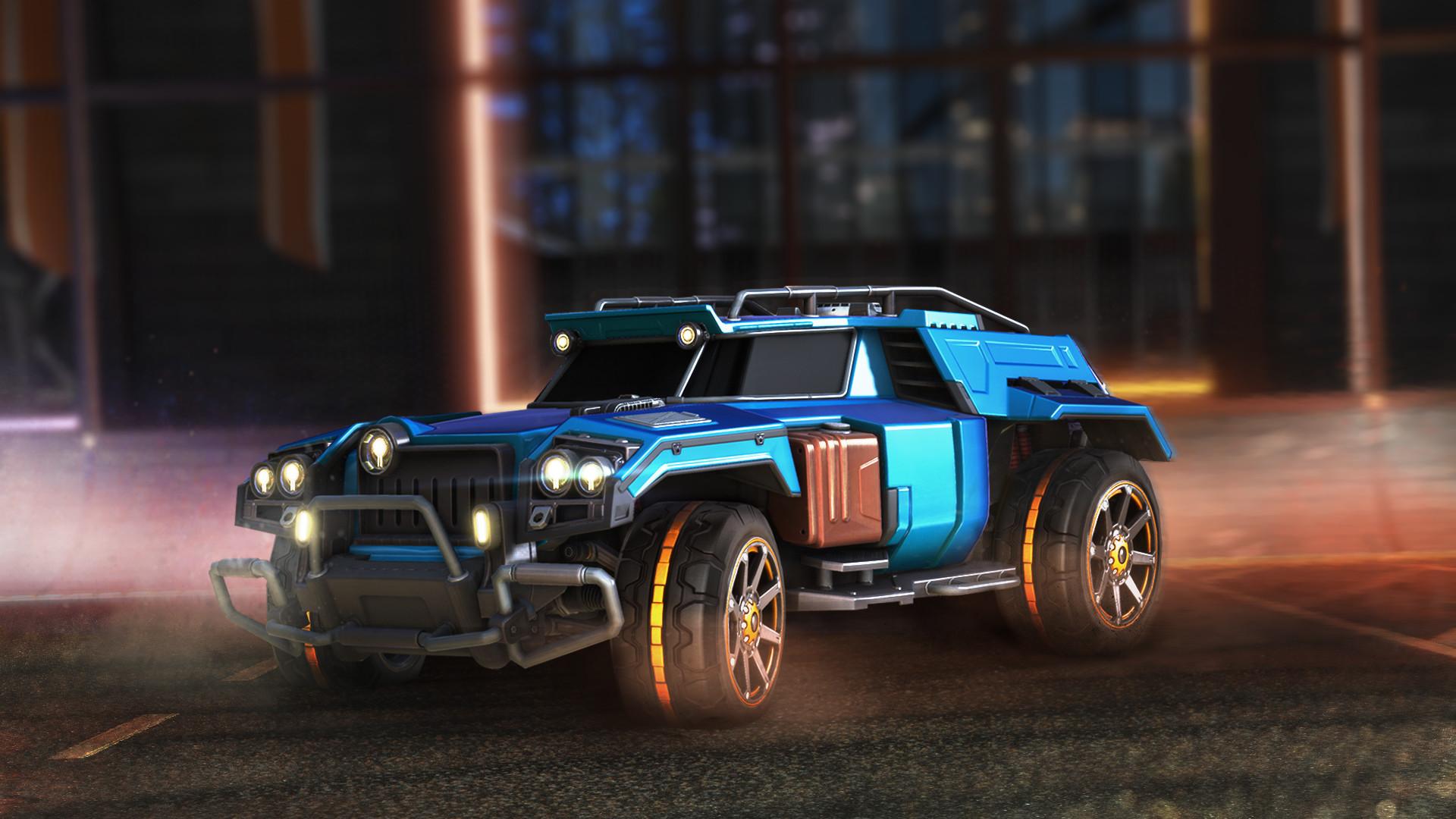 New Rocket League Cars