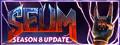 SEUM: Speedrunners from Hell logo
