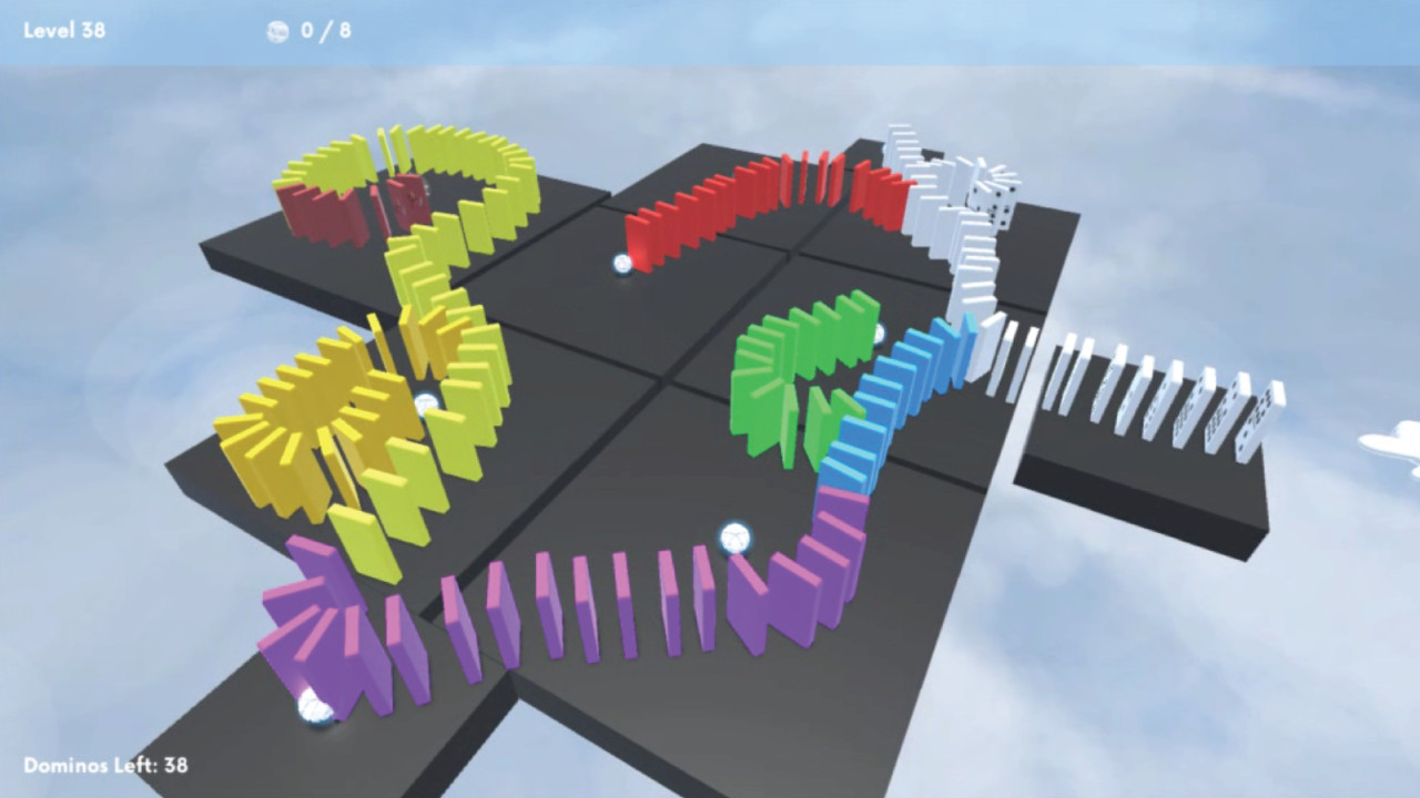 Domino Sky screenshot