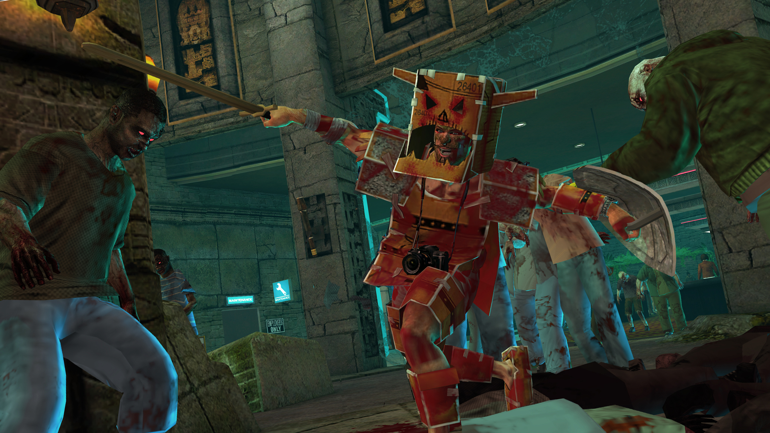 Dead Rising 2: Off the Record COSPLAY Skills Pack screenshot