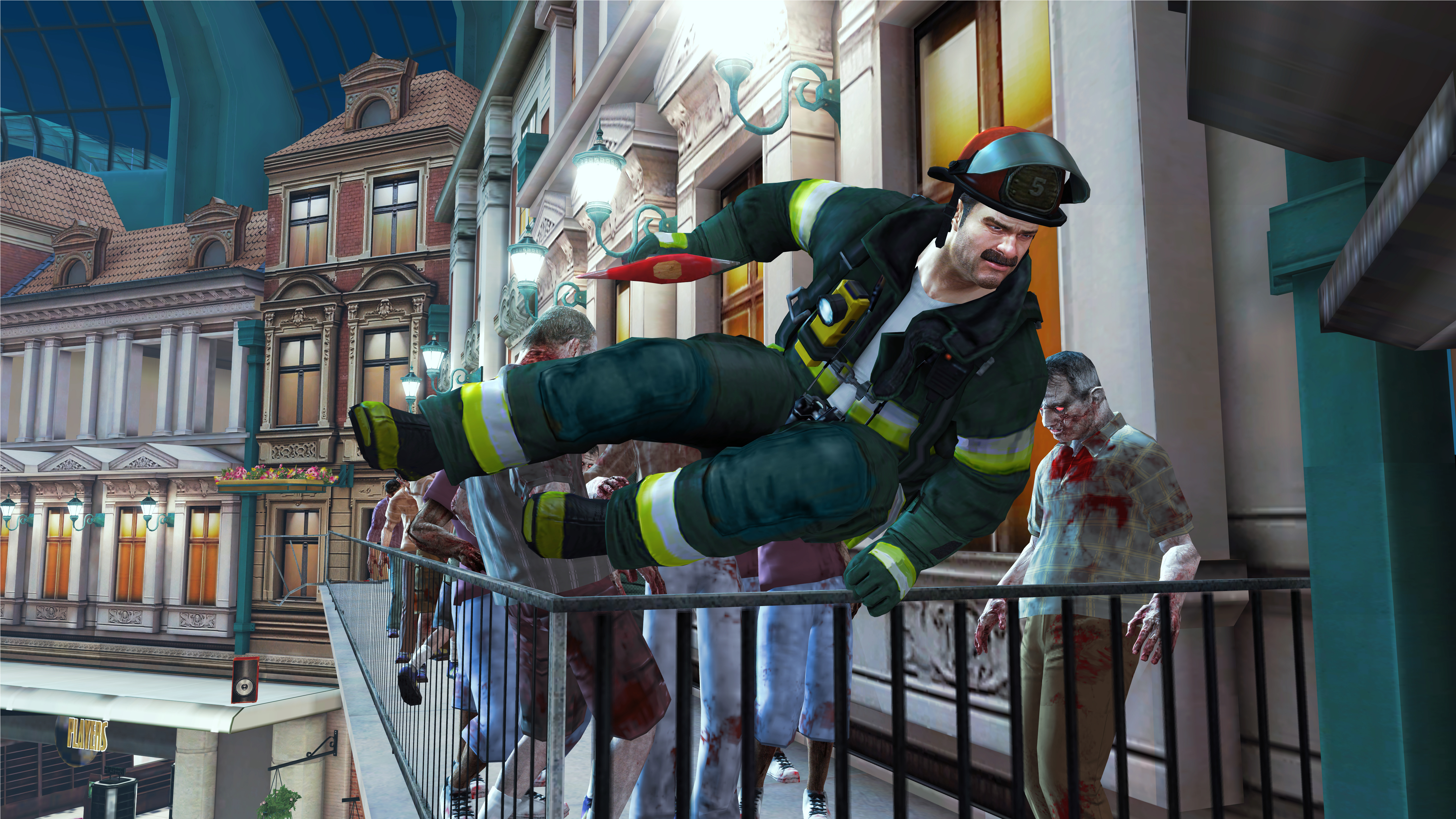 Dead Rising 2: Off the Record Firefighter Skills Pack screenshot