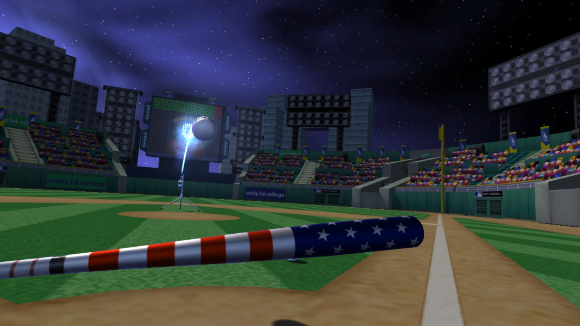 Vive vr baseball home run derby for Vr for home