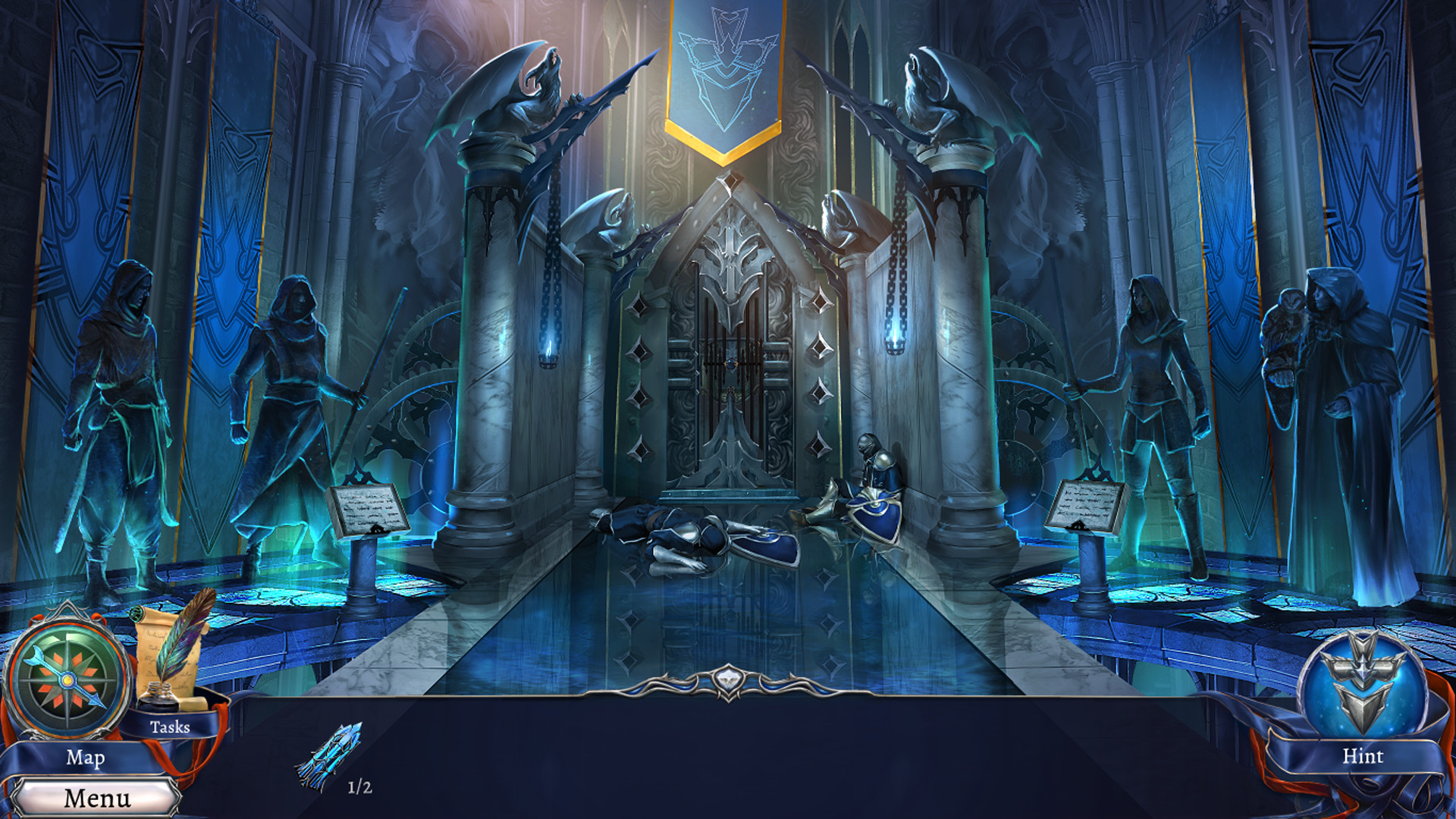 Grim Legends 3: The Dark City screenshot