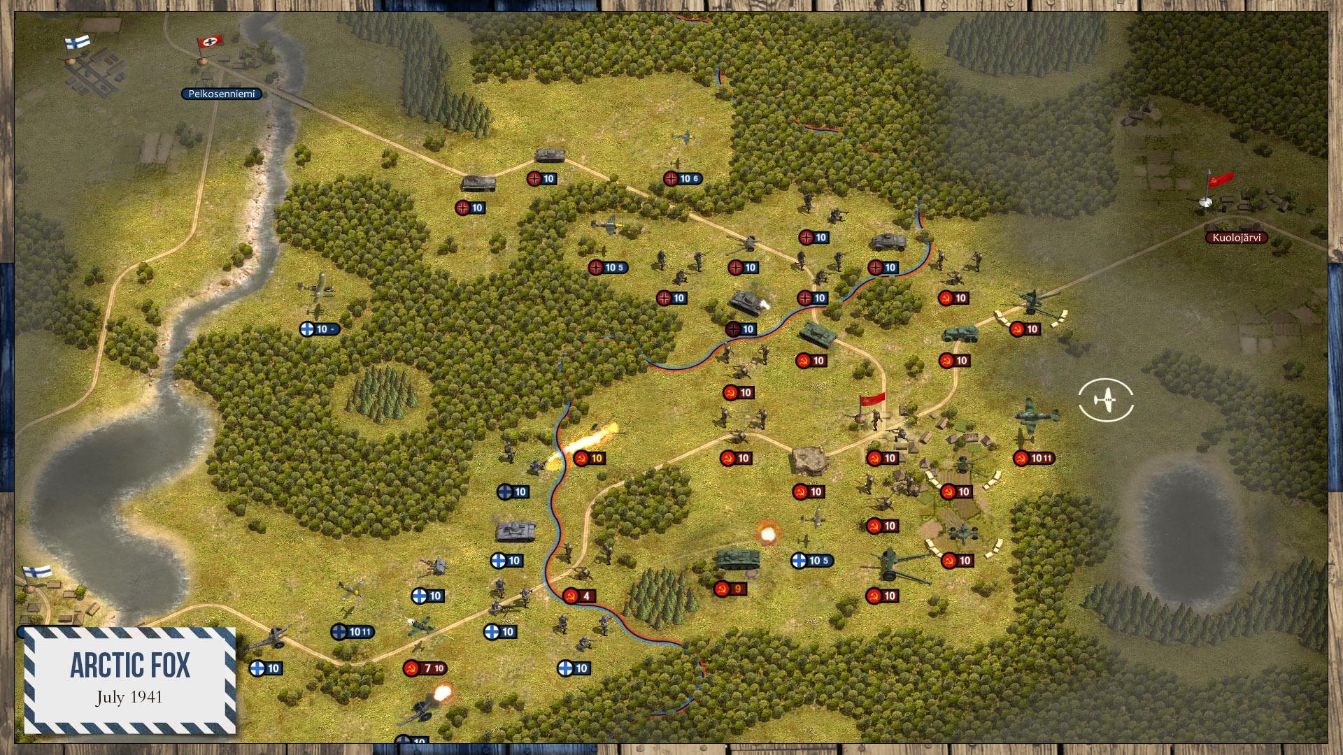 Order of Battle: Winter War screenshot
