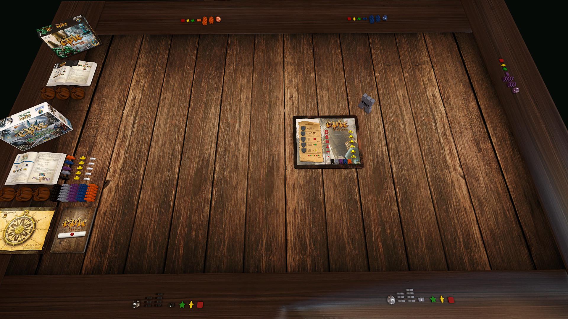 Tabletop Simulator Tiny Epic Kingdoms Gameplay 1