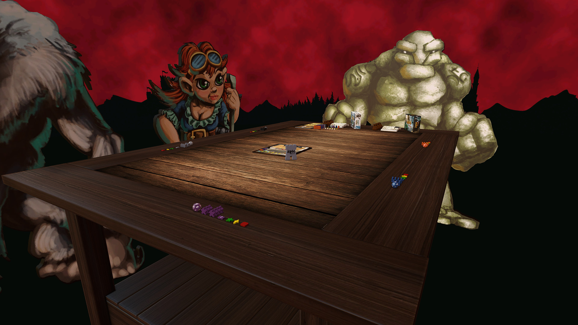 Tabletop Simulator Tiny Epic Kingdoms Gameplay 4