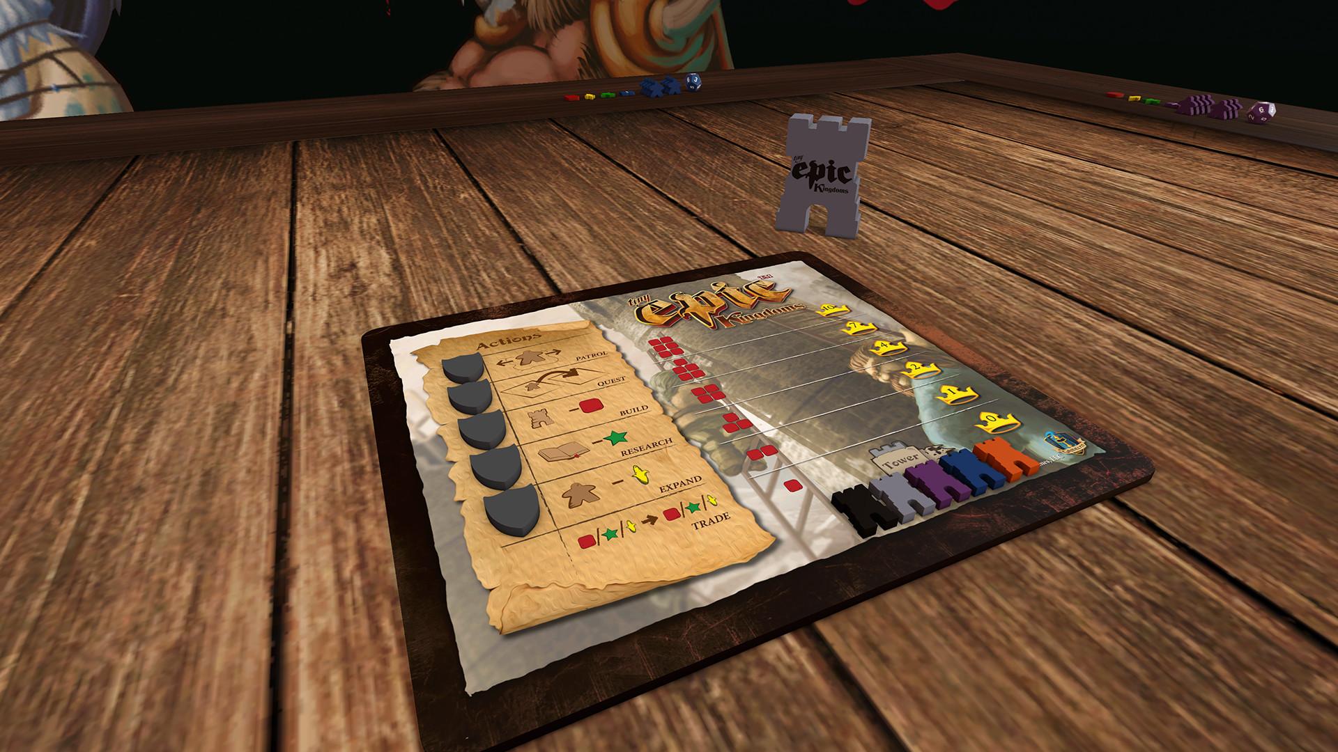 Tabletop Simulator Tiny Epic Kingdoms Gameplay 3