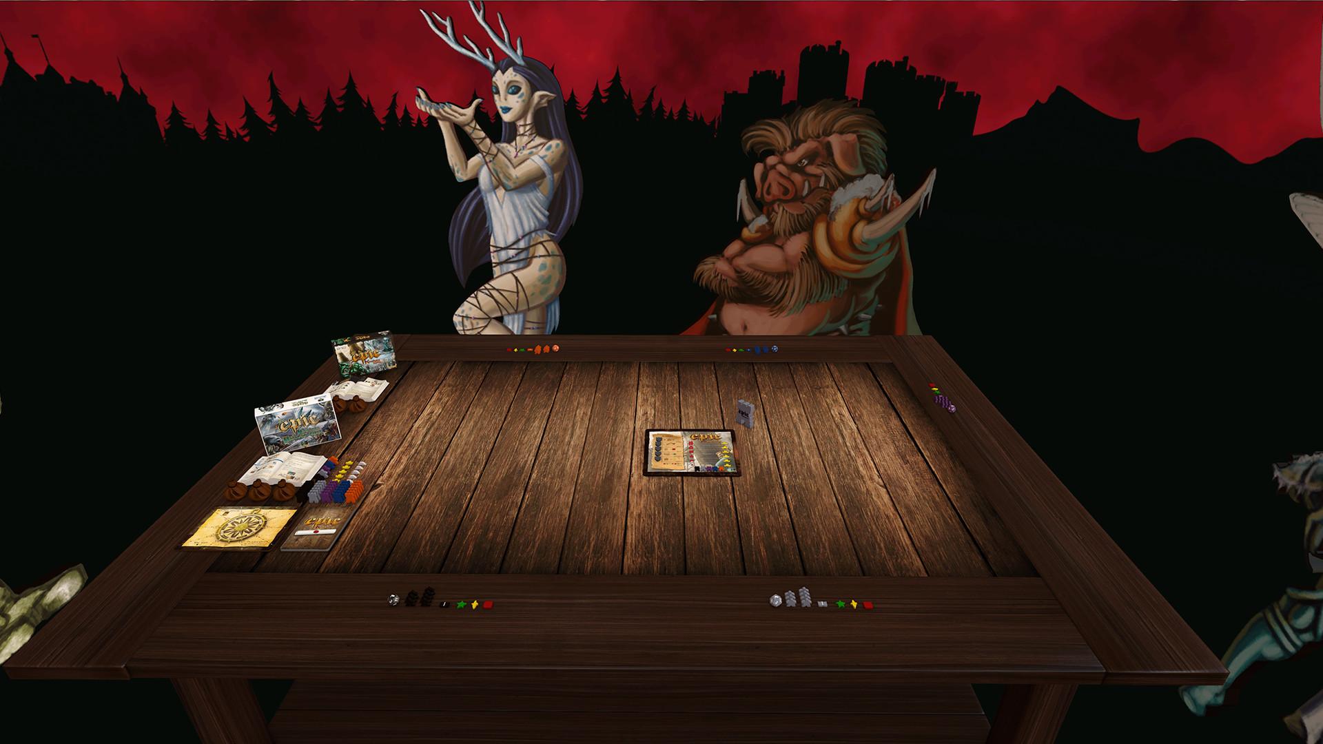 Tabletop Simulator Tiny Epic Kingdoms Gameplay 2