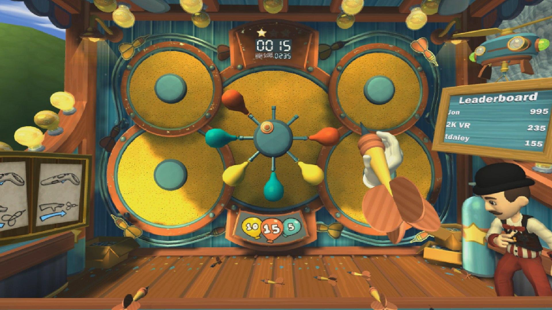 Carnival Games VR screenshot