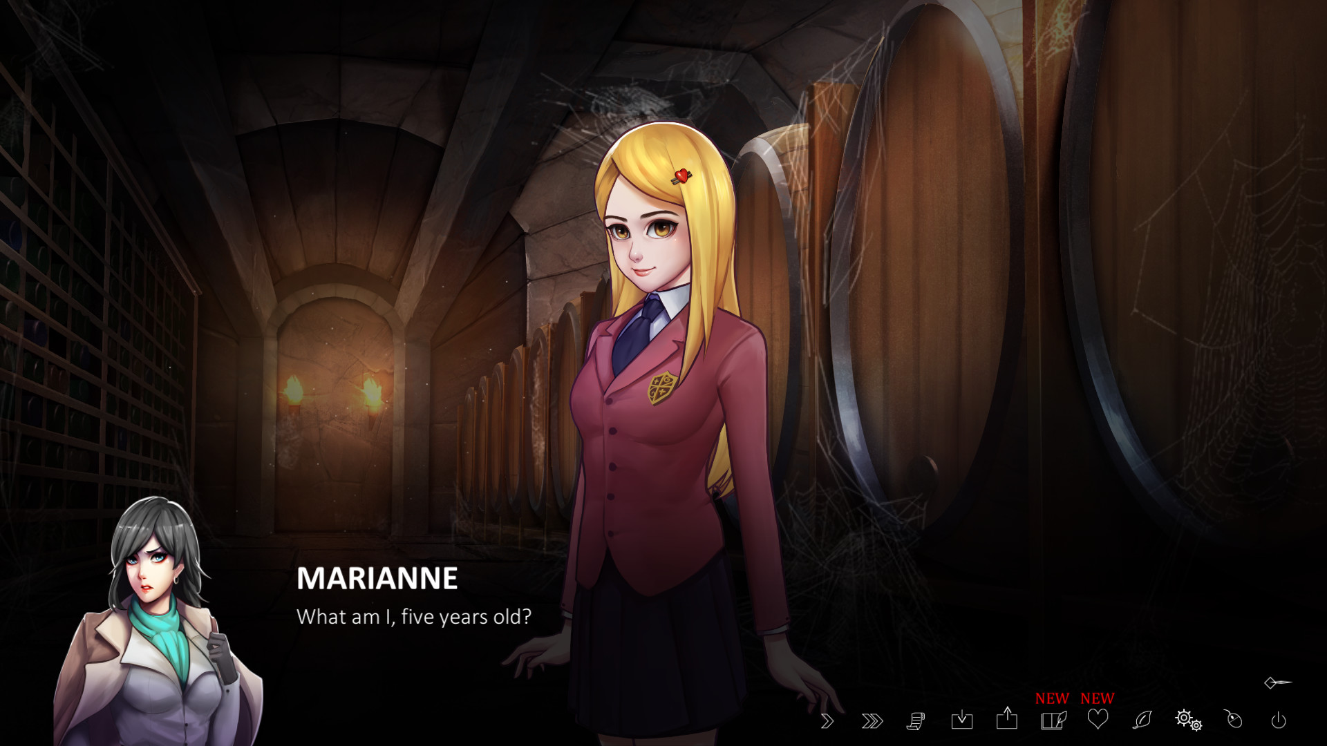 Katie From The Scullery Hookup Simulator Anime Game