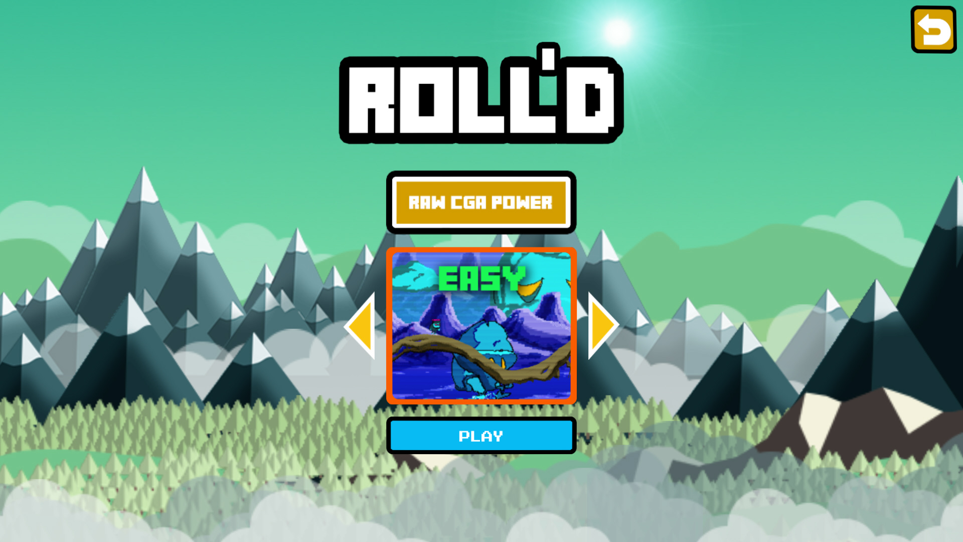 Roll'd screenshot