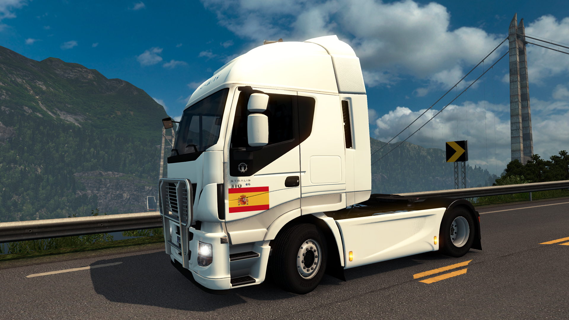 Euro Truck Simulator 2 - Spanish Paint Jobs Pack screenshot