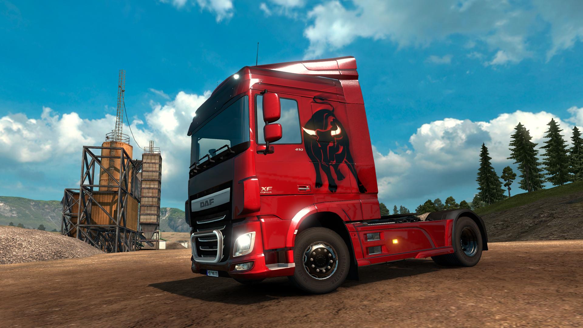 Euro Truck Simulator 2 - Spanish Paint Jobs Pack screenshot