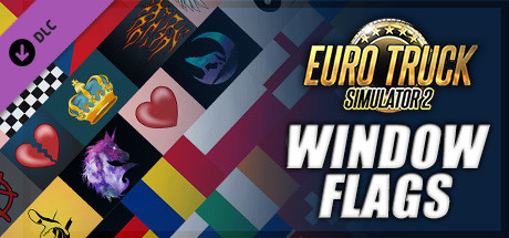 Euro Truck Simulator 2 - Window Flags