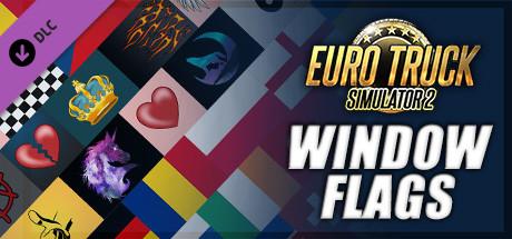Euro Truck Simulator 2 - Window Flags