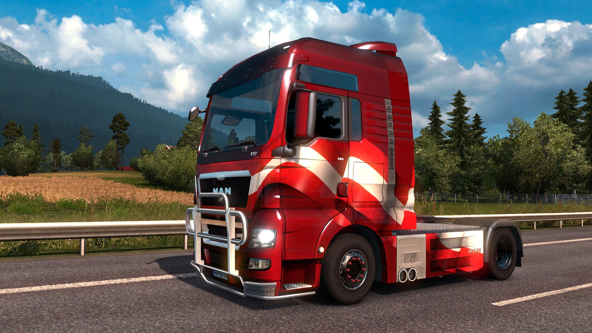 Euro Truck Simulator 2 - Austrian Paint Jobs Pack screenshot