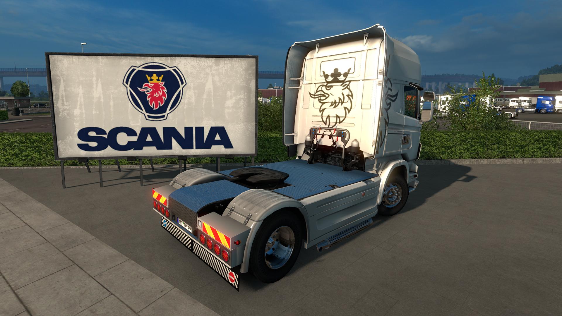 Euro Truck Simulator 2 - Mighty Griffin Tuning Pack screenshot