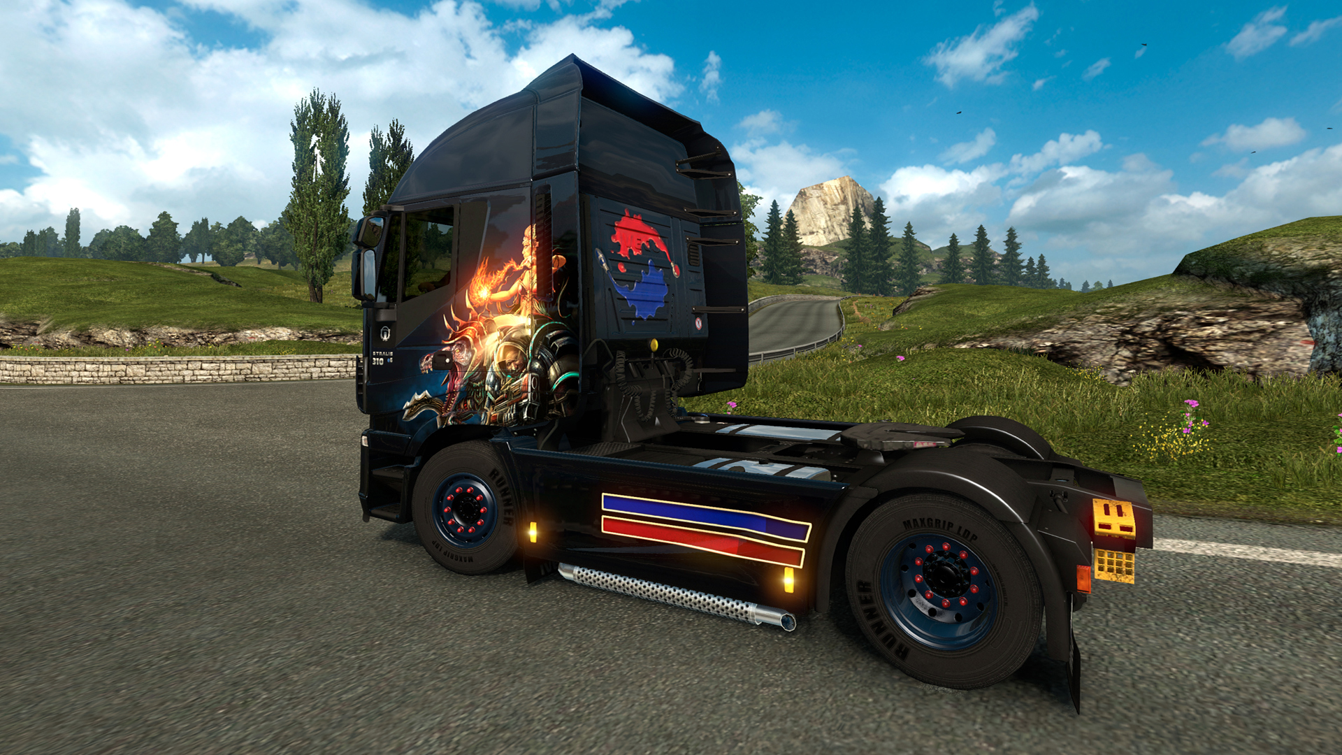 Euro Truck Simulator 2 - South Korean Paint Jobs Pack screenshot