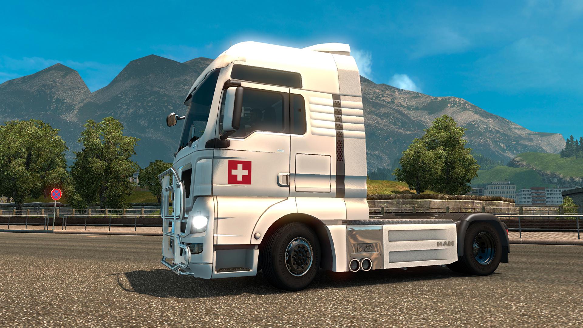 Euro Truck Simulator 2 - Swiss Paint Jobs Pack screenshot