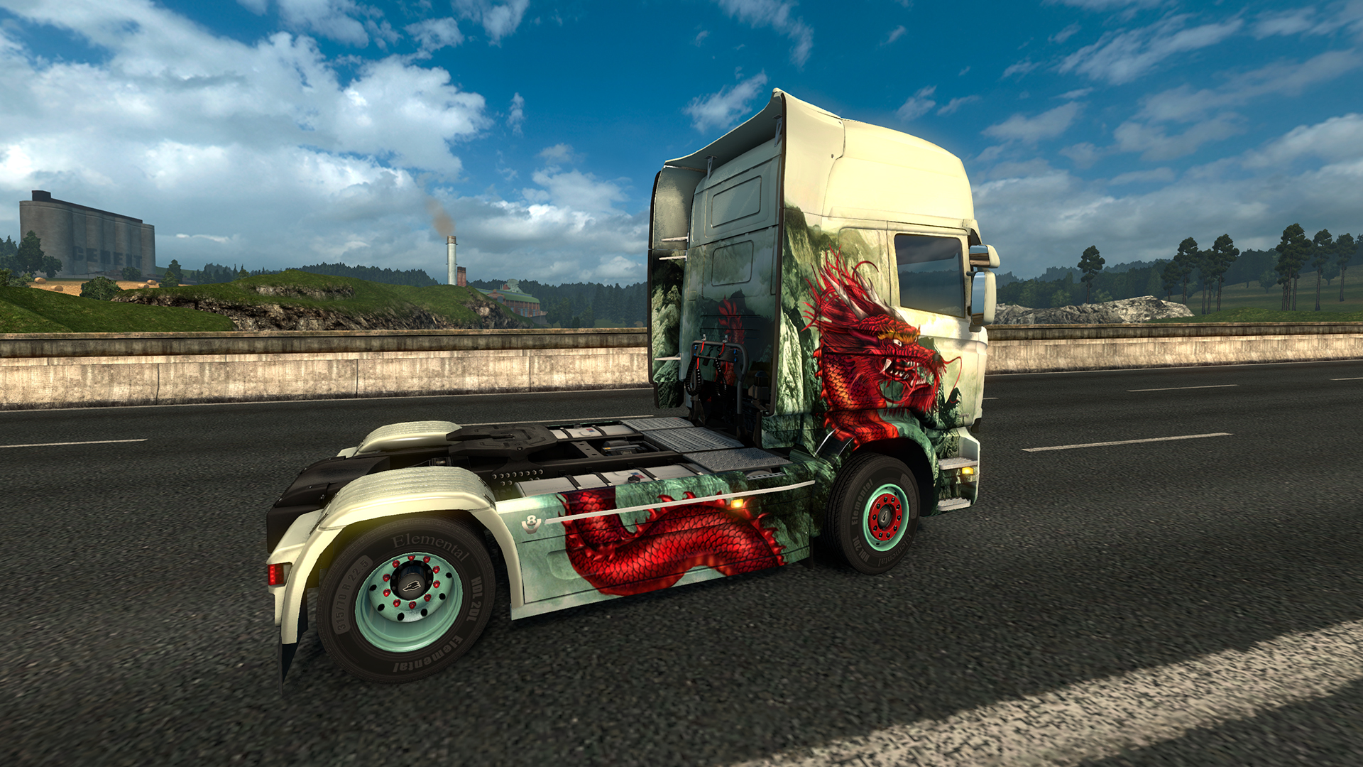 Euro Truck Simulator 2 - Chinese Paint Jobs Pack screenshot
