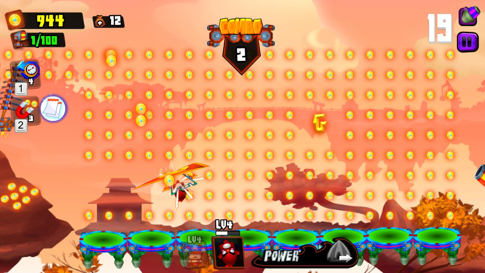 Galaxy Cannon Rider screenshot
