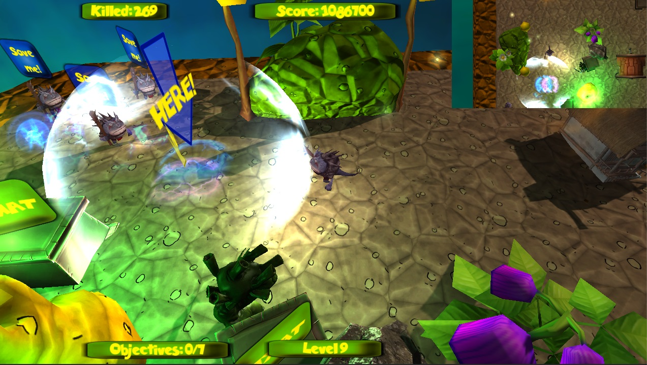 Zipple World 2: The Sweet Chaos screenshot