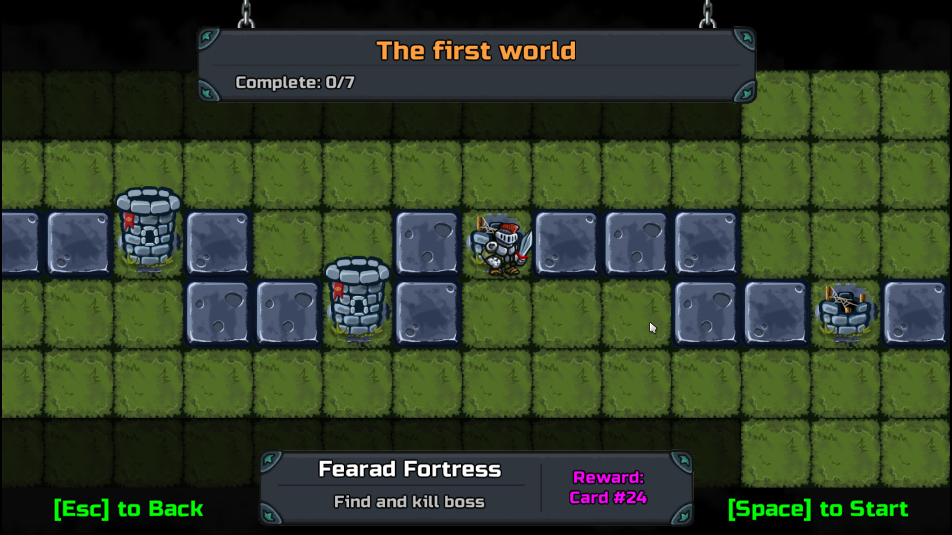 Dungetris screenshot