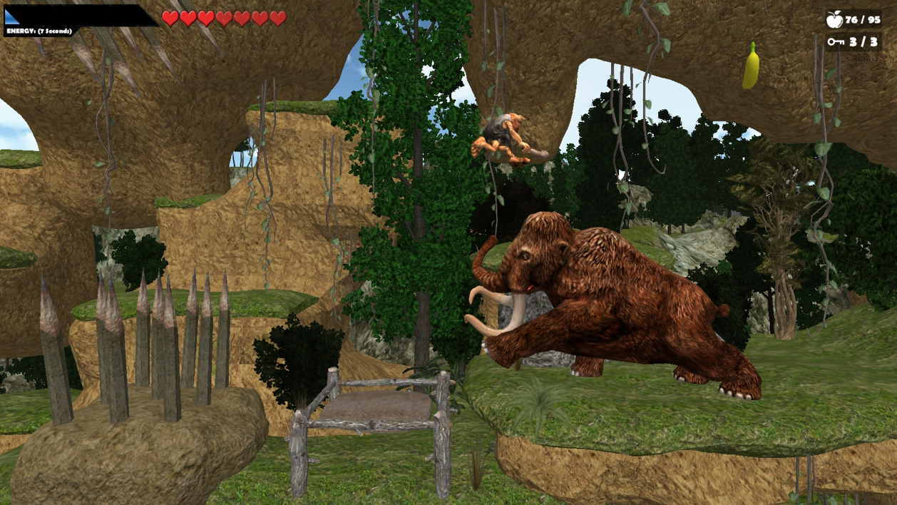 Caveman World: Mountains of Unga Boonga screenshot