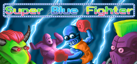 Super Blue Fighter game image
